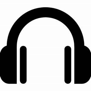 Headphone symbol ⋆ Free Vectors, Logos, Icons and Photos ...