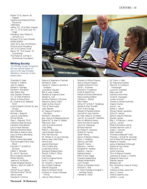 bell tower publication  washburn university