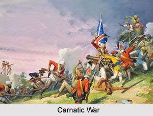carnatic war   british india