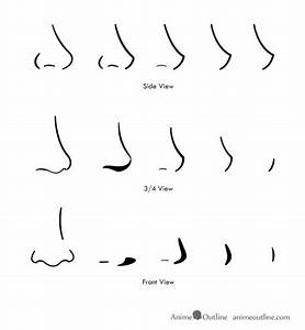Drawing Anime noses | how to draw anime and manga noses ...