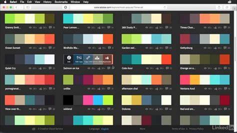 explore tab   adobe color website