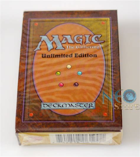 mtg unlimited starter deck neostore factory sealed unlimited starter deck
