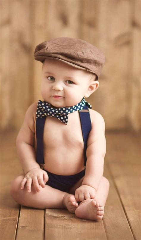 adorable infant baby toddler kids boys navy bow tie