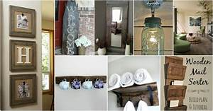 40 rustic home decor ideas you can build yourself diy With kitchen decals for walls ideas you can apply at home
