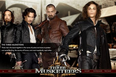 Three Musketeers Movie Quotes 2011