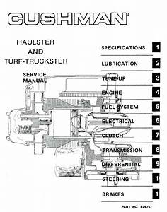Doc  Diagram Cushman Golf Cart Wiring Diagram Ebook