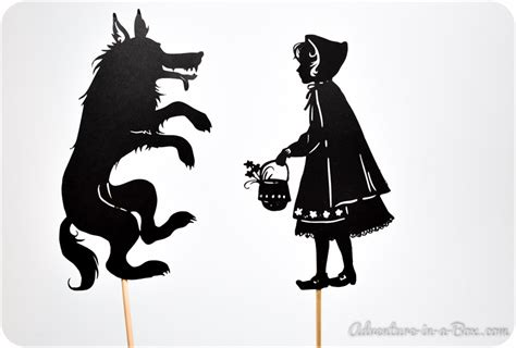 shadow puppet printables child