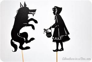 little red riding hood shadow puppet printables shadow With free shadow puppet templates