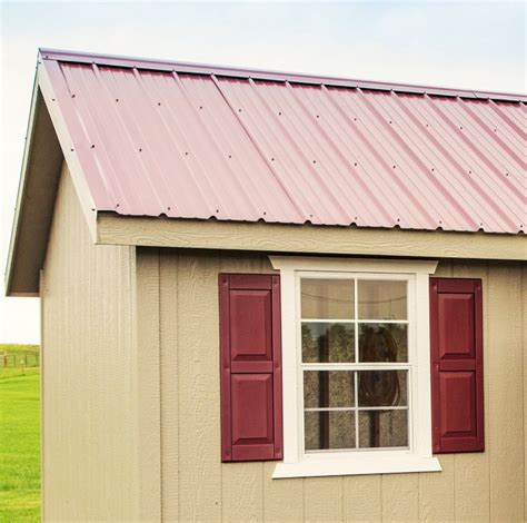 install metal roof on shed pros and cons of metal roofing for sheds gazebos and