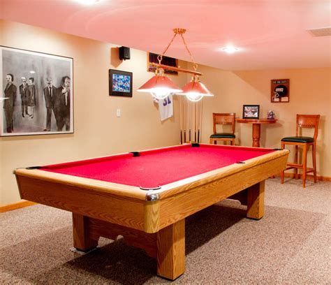 pool table in a small room pool table traditional home theater new york by rikki snyder