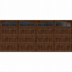 clopay gallery collection 16 ft x 7 ft 65 r value With 5 x 7 garage door