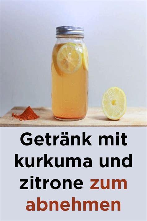 mineralwasser mit zitrone zum abnehmen getr 228 nk mit kurkuma und zitrone zum abnehmen k 246 rper gesundheit detox drinks healthy