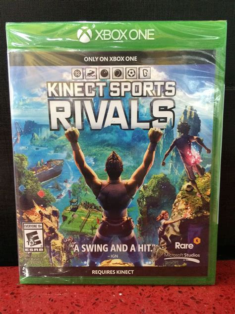 The halo and gears of war series stand above all others on xbox one if you're into shooter games, while cuphead features some. Xbox One Kinect Sports Rivals - GameStation