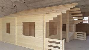 prix maison en kit bois maison bois cle en main terrasse With delightful prix maison en rondin 6 chalet en bois rondin en kit mzaol