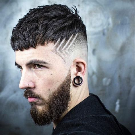 textured crop skin fade hair design new hairstyle for