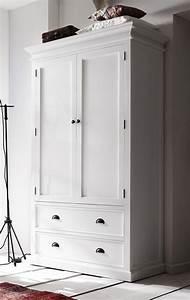 Schrank Landhausstil Weiß : kleiderschrank huntington schrank w scheschrank landhaus landhausstil wei massiv mahagoni neu ~ Indierocktalk.com Haus und Dekorationen