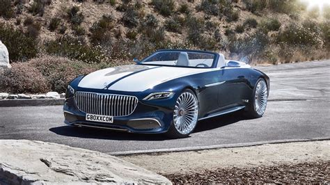 Mercedes-maybach 6 Cabriolet Looks Stunning With