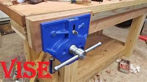 Installing a BIG vise (Yost 9 inch quick release vise