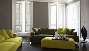 quelle couleur choisir pour son salon With tapis de sol avec canapé tissu chocolat