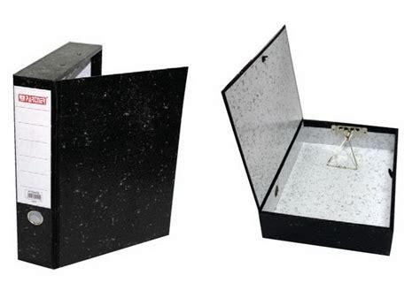 Alba Pvc Rigid Closed Box File, F/s, Black