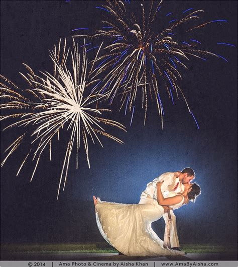 wedding fireworks wedding photography cinema
