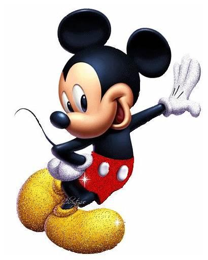 Glitter Mickey Mouse Graphics Disney Walt Happy