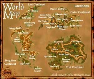 Final Fantasy IX FFIX FF9 World Map