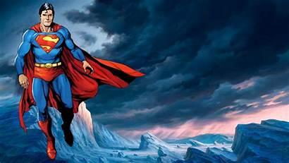 Superman Wallpapers Background Cool Cartoon Comics Superhero