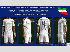 PES 2013 Real Madrid Fantasy Kit By abolfazlm10 PES Patch