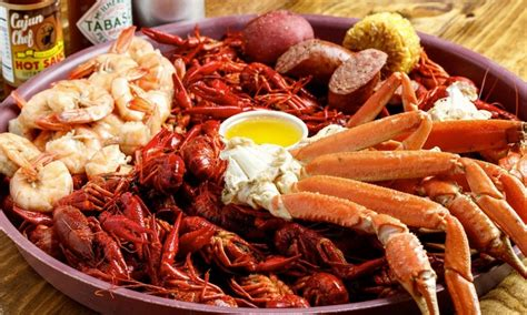 cuisine cajun authentic cajun cuisine the crawfish joint groupon