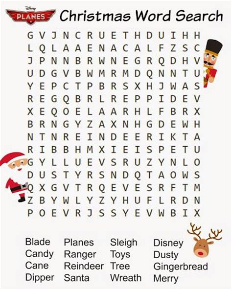 easy disney planes christmas word search chocolate quot jingle bells quot diy matching game