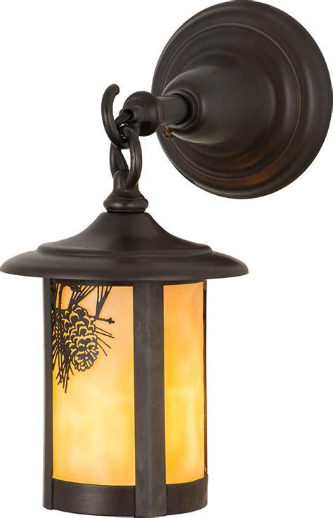meyda 90846 fulton winter pine rustic beige