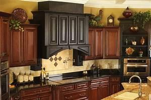 above kitchen cabinet decor 781