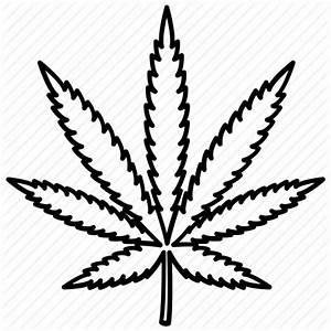 Cannabis, drug, hash, leaf, marijuana, medical, pot icon ...