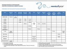 Calendario de Vacunación SALUD
