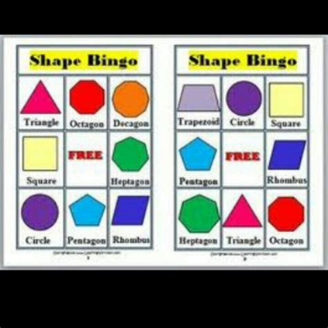 shape bingo way to teach toddlers and children 747 | f9d05849798c3bbb281ca77aa87285f9