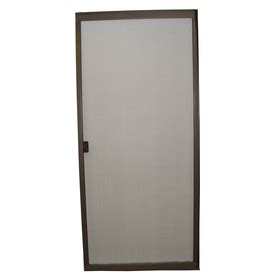 shop ritescreen bronze steel sliding screen door common
