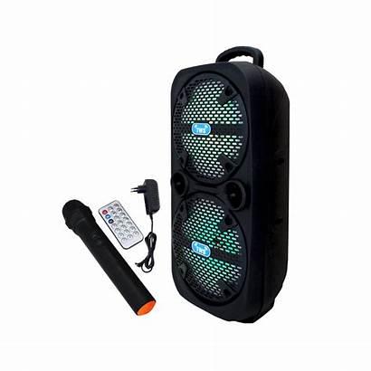Haut Parleur Micro Radio Bluetooth Rechargeable Avec