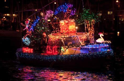holiday lights sights boat parade fishermans