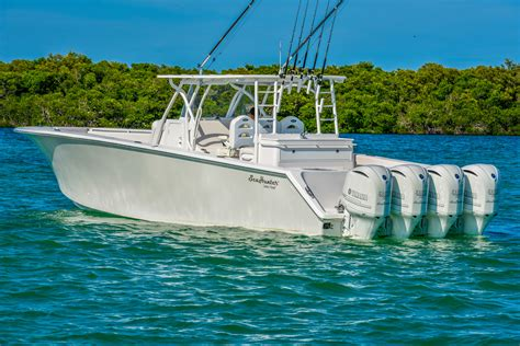 Offshore Tournament Boats by Seahunter Carbon Fiber Kevlar Tournament 45 Foot Offshore