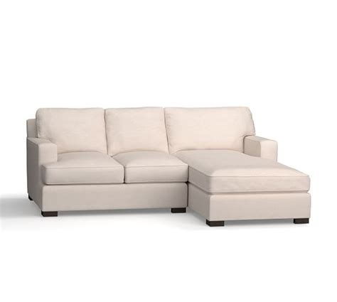 pottery barn townsend sofa townsend upholstered square arm sofa with chaise sectional