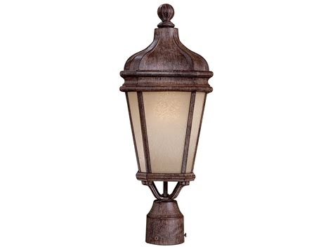 rust free outdoor lighting minka lavery harrison vintage rust outdoor post light