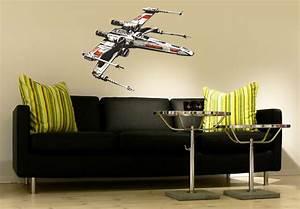 Star Wars Vorhänge : star wars the clone wars wandtattoo x wing raumschiff ~ Lateststills.com Haus und Dekorationen