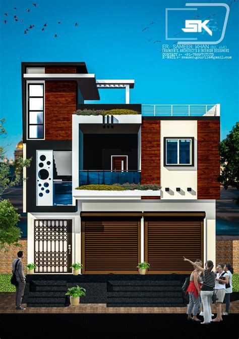 introducing modern house trending exterior elevation