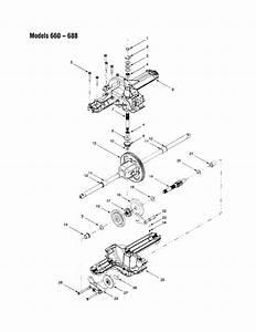 Bolens Model 682 Lawn  Tractor Genuine Parts