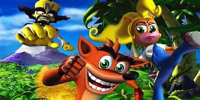 Bandicoot Crash Ps4 Adventures Characters Classic Games