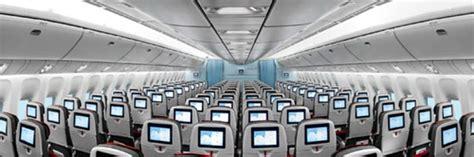 außen und innen austrian airlines langstrecke economy class