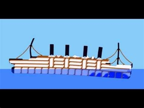 sinking simulator rms titanic sandbox youtube