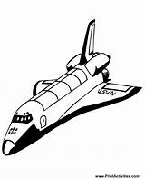 Shuttle Space Coloring Pages Clipart Realistic Spaceship Shuttles Stencil Colouring Spacecraft Stencils Nasa Clip Printables Printable Popular Projects Looking Coloringhome sketch template