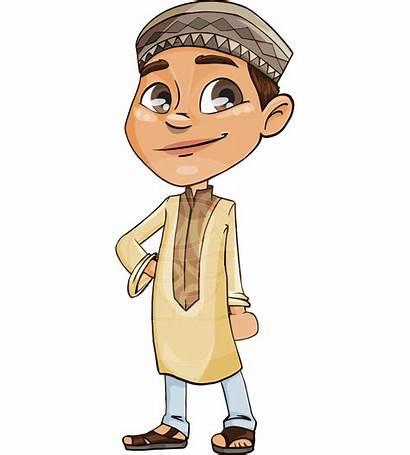 Cartoon Arabic Muslim Boy Transparent Character Pngio